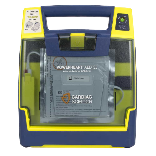Cardiac Science Powerheart® AED G3 Plus Semi Automatic - NEW