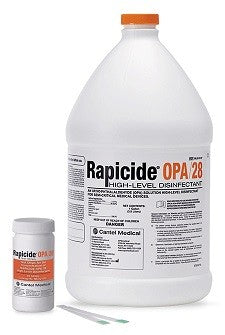 SPSMedical Rapicide OPA/28 High-Level Disinfectant, Case of 4 (Test Strips Sold Separate)