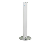 Load image into Gallery viewer, AeroCleanse No Touch Hand Sanitizer Stand with 1-Liter  Hand Sanitizer Gel With Pump
