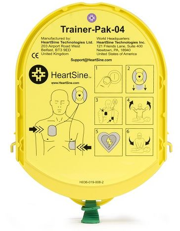 HeartSine Pad-Pak Electrode Cartridge for AED Trainer