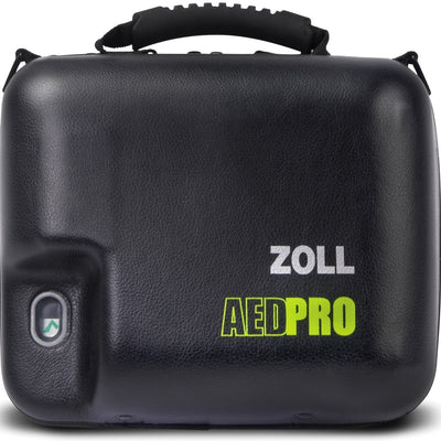 ZOLL AED Pro Molded Vinyl Carry Case with Spare Battery Compartment