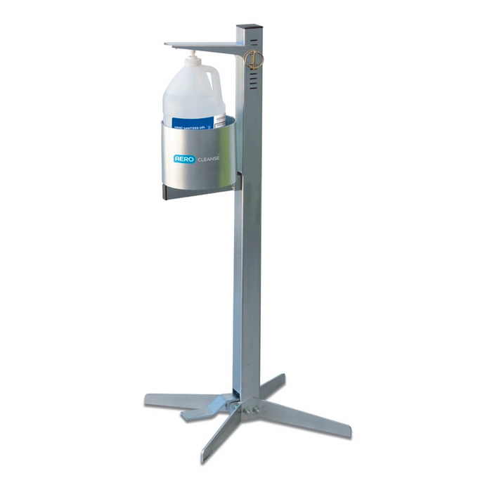 Sanitizing Station with 1 Gallon Respond Liquid Hand Sanitizer