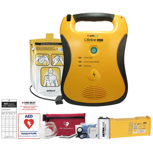 new defibtech lifeline aed fully automatic DCF-A120EN