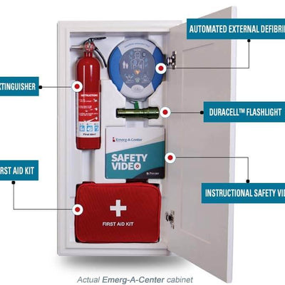 Option Setting AED and First Aid Safety Cabinet Only