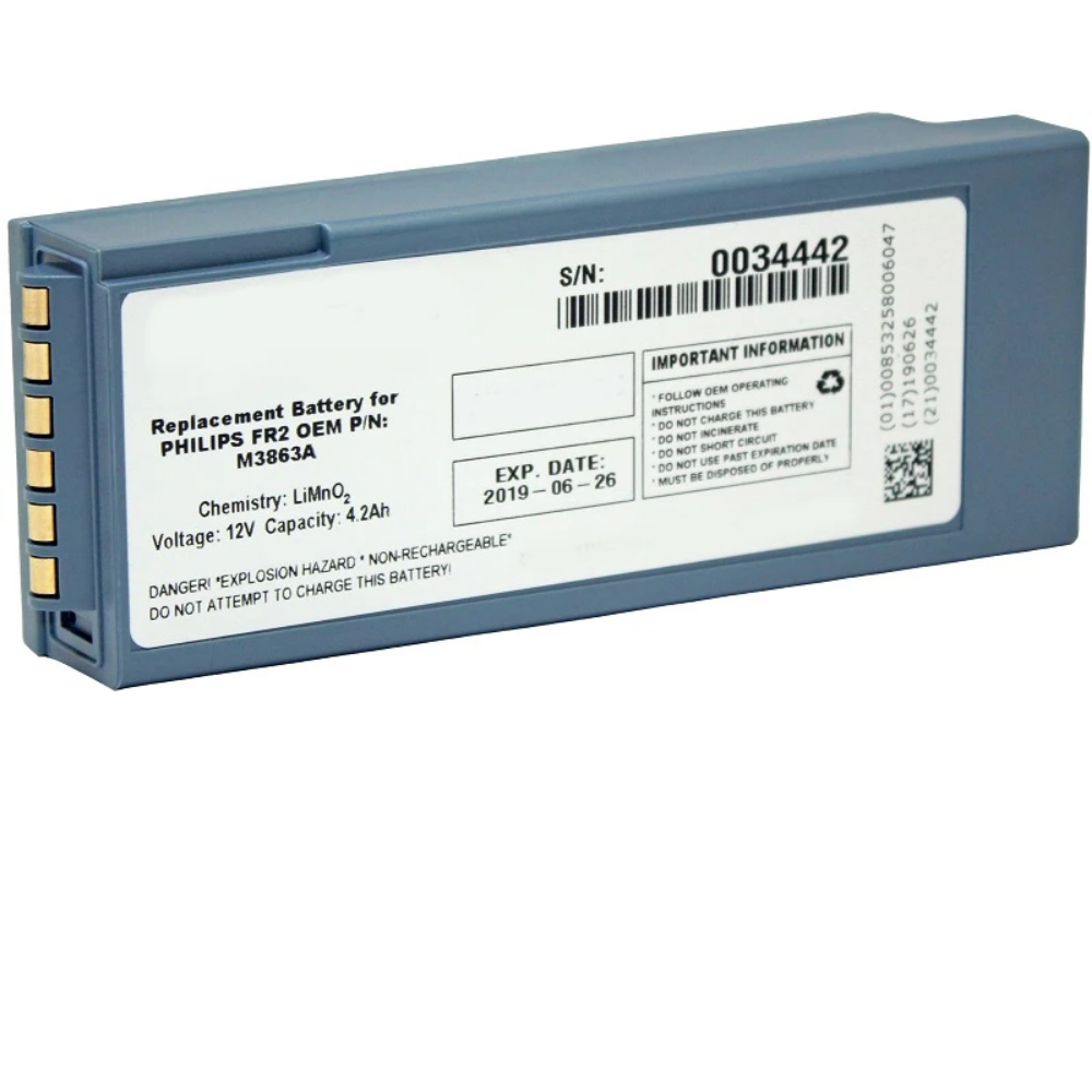 Philips FR2 Compatible Battery