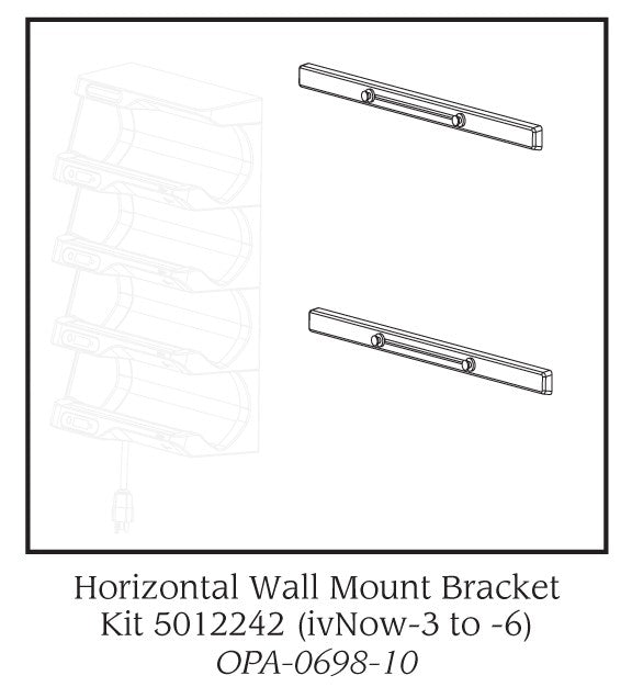 Enthermics Horizontal Wall Mount  for ivNow 1 & 2