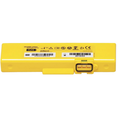 Defibtech Standard 4 -Year Battery Pack for LifeLine View/Pro/ECG Units #DCF-2003 (DDU-2000 Series)
