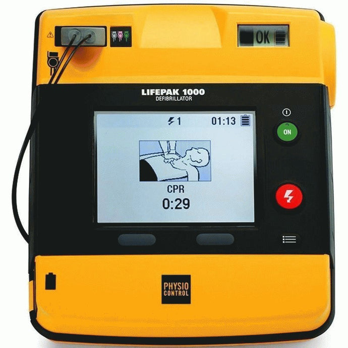Physio-Control LIFEPAK 1000 Graphical Display - Recertified
