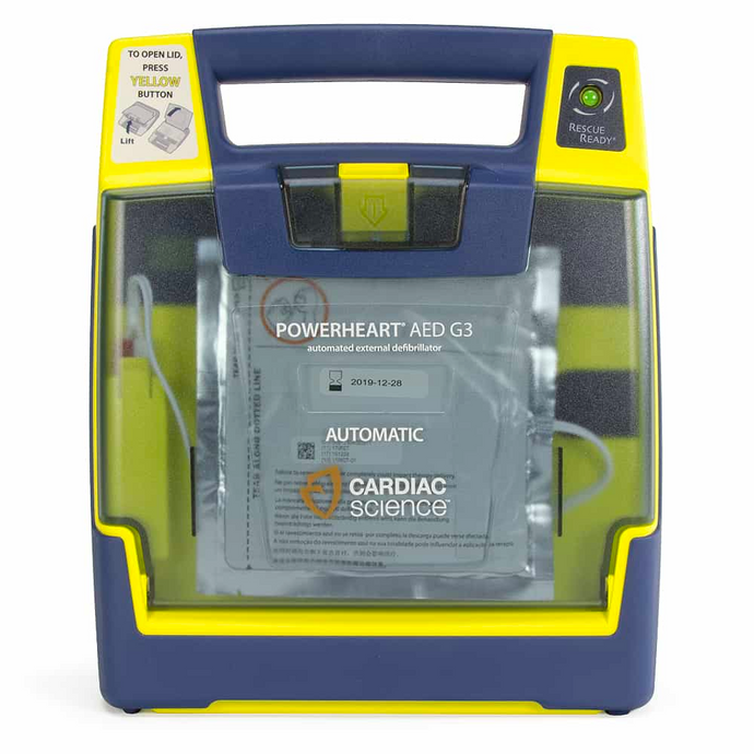 Cardiac Science Powerheart AED G3 - Fully Automatic - Recertified
