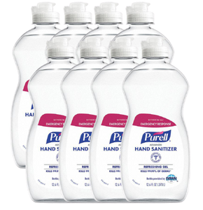 Purell Gel Hand Sanitizer 12.6 FL Oz Case