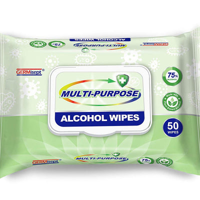 First Voice Multi-Purpose Alcohol Wipes - 50 ct/24 Cs