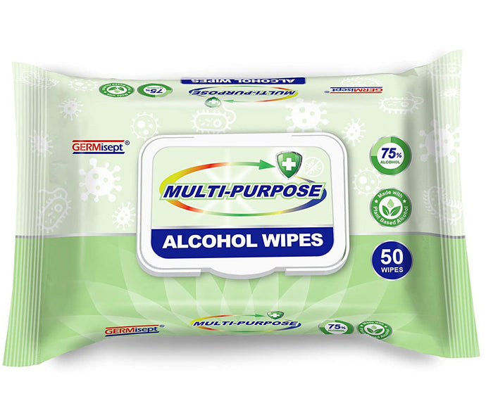 First Voice Multi-Purpose Alcohol Wipes, 50 ct.