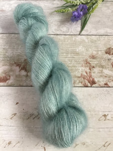 Sale - Fluff Kidsilk Mohair - Sea Sage