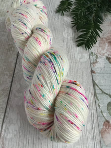 High Twist Sock - 4ply - Fairy Lights