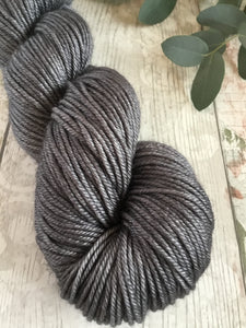 Gleam DK - BFL/Silk - Somewhat Grey
