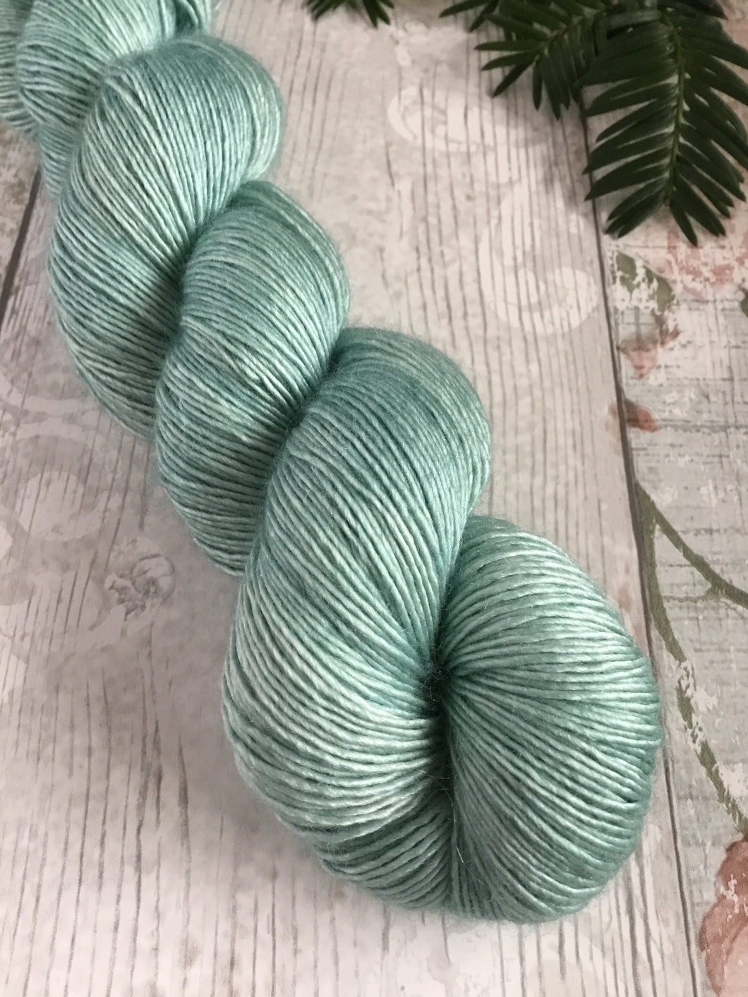 Silky Singles - 4ply - 100g -  Dark Duck Egg