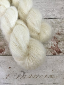 Fluff Kidsilk Mohair - Lace - Naked