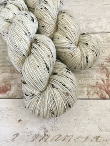Tweedy Sock - 4ply - Natural