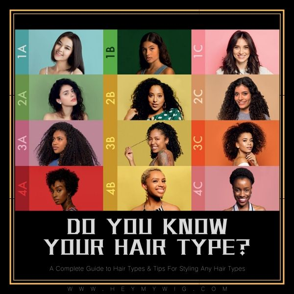 A Complete Guide to Hair Types & Tips For Styling Any Hair Types