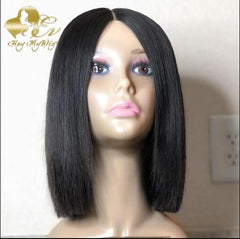 4x4-5x5-6x6-blunt cut lace closure wig