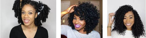 CROCHET BRAIDS protective hairstyle for black girl