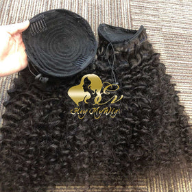 Drawstring Ponytail Afro Kinky Curly/Kinky Straight/ Deep Wave/Body Wave/Straight