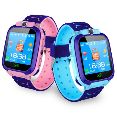 2019 New Children's Smart Waterproof Watch, Anti-lost Kid Wristwatch With GPS Positioning and SOS Function For Android and IOS