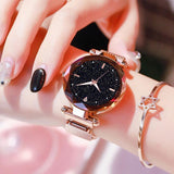 Luxury Women Watches 2019 Ladies Watch Starry Sky Magnetic Waterproof Female Wristwatch Luminous relogio feminino reloj mujer