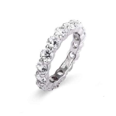 Celebrity Style Replica CZ Engagement Band