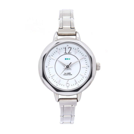 La Mer Del Mar Petite Silver Expansion Watch