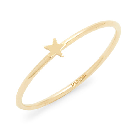 Gold Filled Star Stackable Ring