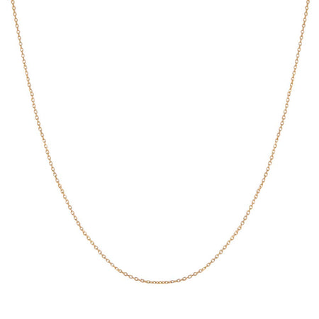 14K Gold Rolo Chain   18 Inches in Length