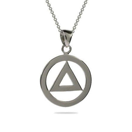 Sterling Silver Recovery Pendant