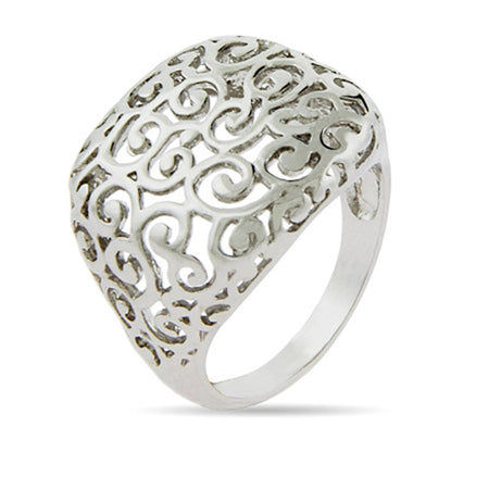 Square Filigree Ring| Eve's Addiction