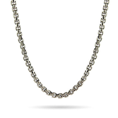 Stainless Steel 3MM Box Link Chain