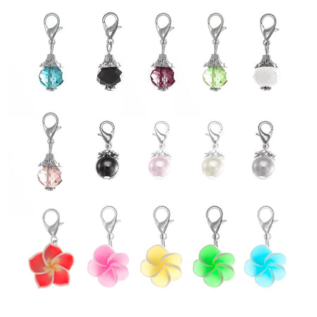 display slide 1 of 3 - Dangle Charms for Floating Charm Lockets - selected slide