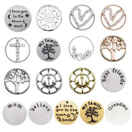 Floating Locket Plates
