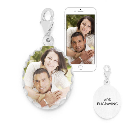 Photo Wedding Bouquet Charm