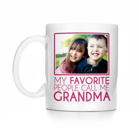My Favorite People Call Me Grandma Photo Mug