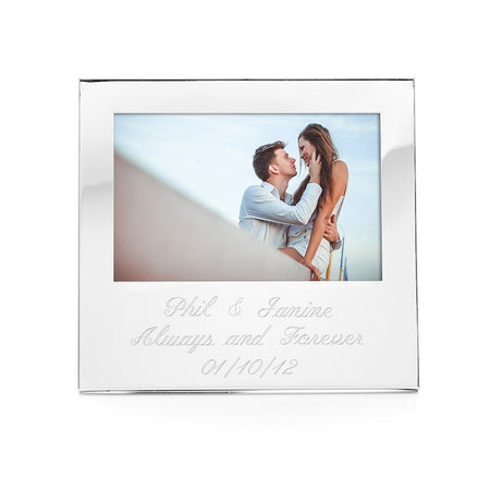 "Engravable 4"" x 6"" Photo Frame"