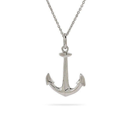 Anchors Away! Anchor Necklace