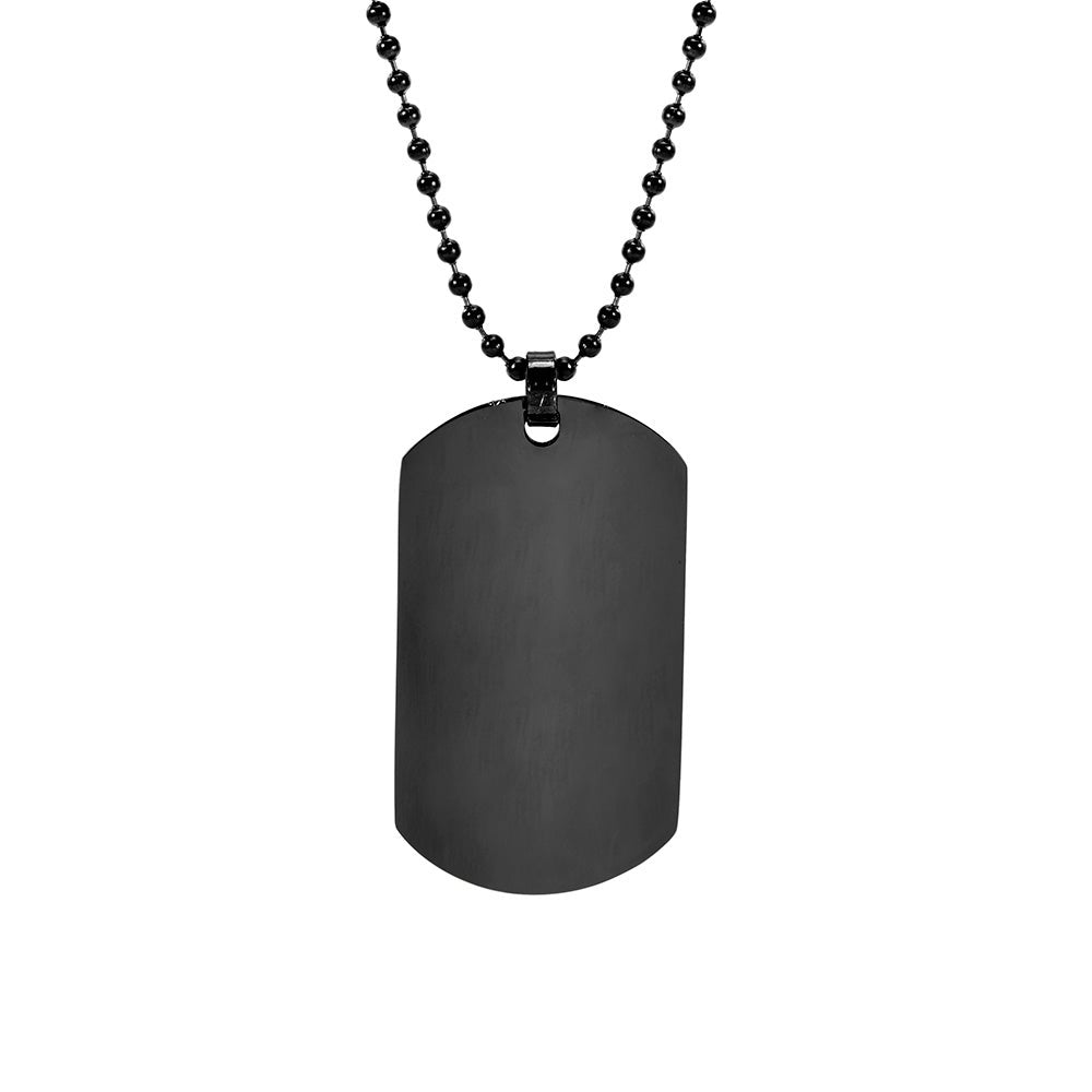 Gunmetal Steel 24 Inch O-Ring Chain Necklace for Living Memory Locket Pendant