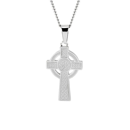 Engravable Celtic Cross Necklace