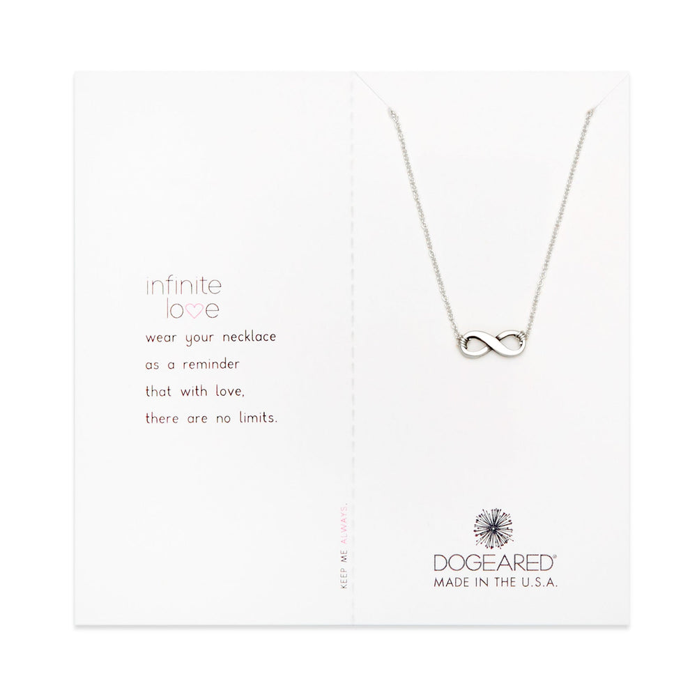 """Dogeared Sterling Silver The Circle 16/"""" with 2/"""" Extender Boxed Necklace"""