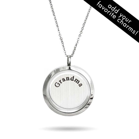 Grandma Floating Locket Necklace