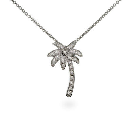 Palm Tree Necklace | Palm Tree Pendant