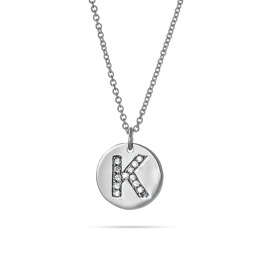 Pendants Initial and Number Charms .925 Sterling Silver Childrens Letter S with Enamel Charm Pendant