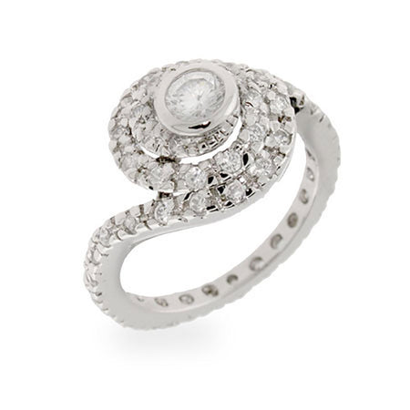 Celebrity Inspired Replica CZ Engagement Ring