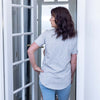 Sydney Nursing Tee - Grey