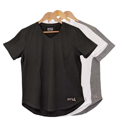 V Neck 3 Tee Bundle (L-5XL)